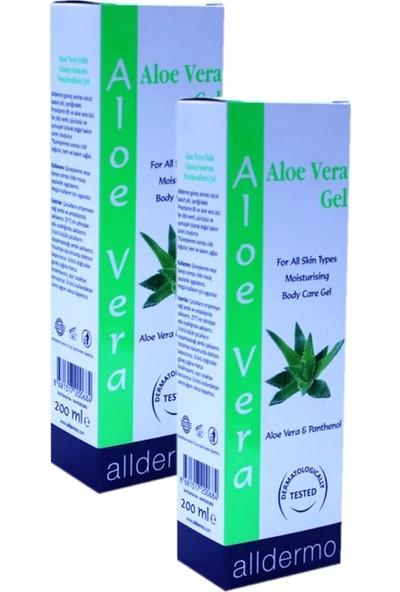 Alldermo Aloe Vera Gel 200ML x 2 Adet