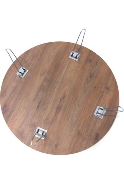 Elsanat Katlanabilir 4 Ayaklı Yer Sofrası 1 Adet 100 cm