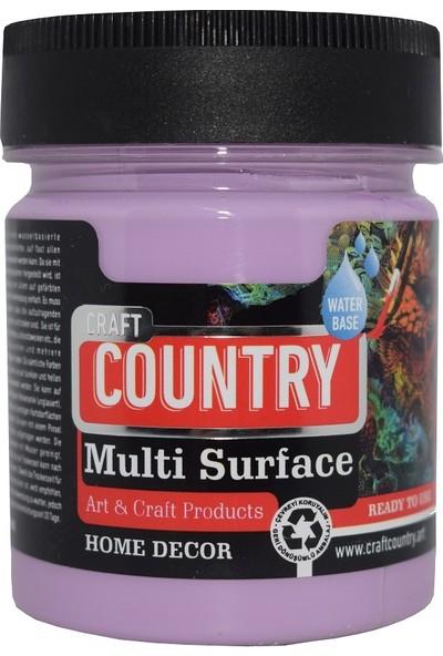 Multi Surface Hobi Boyası Craft Country 2500 Cc 1048 Lavanta