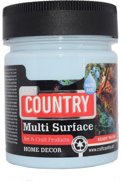 Multi Surface Hobi Boyası Craft Country 2500 Cc 1052 Açık Mavi