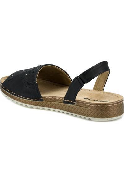 Polaris 161180.Z Siyah Kadın Sandalet