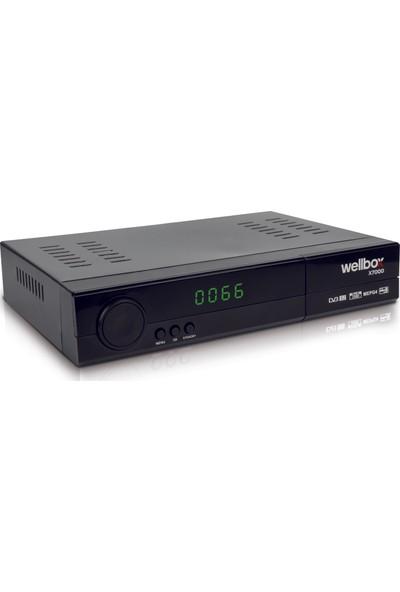 Wellbox X7000 Kasalı Hd Uydu Alıcı