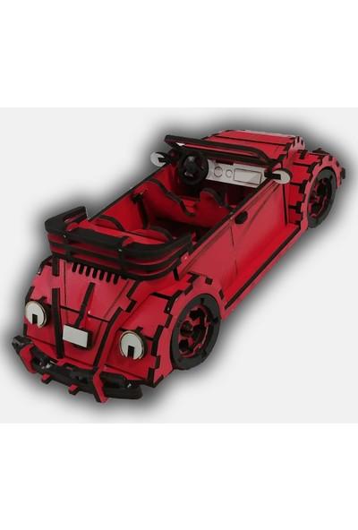 Alfagama 100 Parçalı 1975 VW Beetle Cabrio Maketi