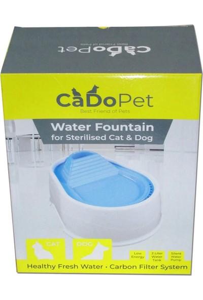 Cado Pet Kedi Köpek Için Otomatik Su Pınarı 2 lt