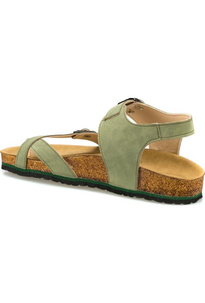 Polaris 315627.Z Haki Kadın Sandalet
