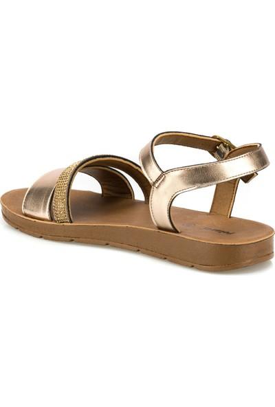 Polaris 315642.Z Rose Gold Kadın Sandalet