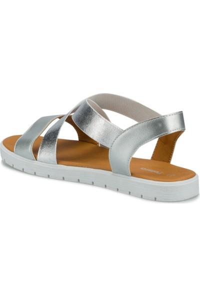 Polaris 315736.Z Gümüş Kadın Sandalet
