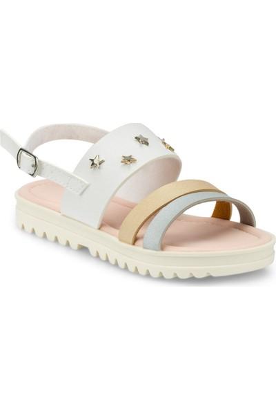 Polaris 512477.F Beyaz Kız Çocuk Sandalet