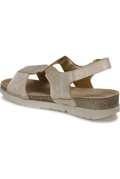 Polaris 91.150775PZ Altın Kadın Sandalet