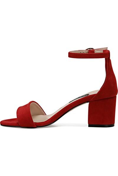 Nine West Badalıa Kırmızı Kadın Sandalet