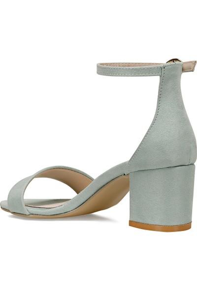 Nine West Badalıa Su Yeşili Kadın Sandalet