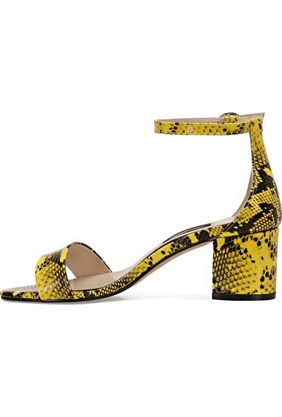 Nine West Badalıa-Sn Sarı Kadın Sandalet