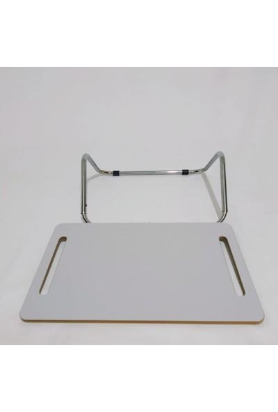 Laptop Yükseltici Ayak Desteği Masa Altı Ayaklık Notebook Standı