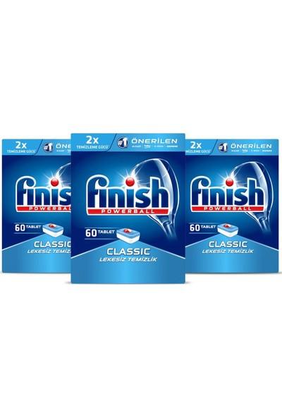 Finish Bulaşık Makinesi Deterjanı Klasik Tablet 180 60 x 3