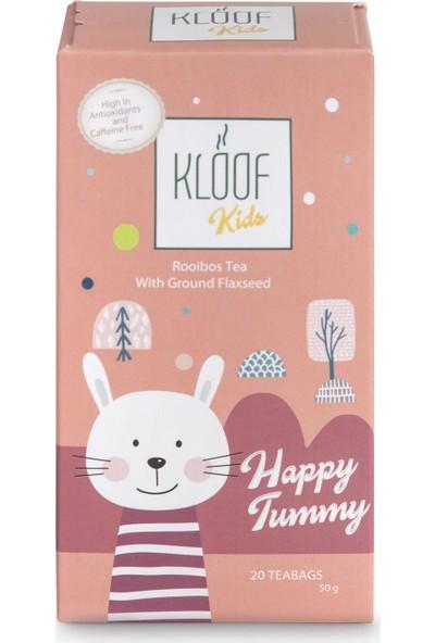 Kloof Rooibos Tea Kloof Kids Happy Tummy Rooibos Tea - Elma ve Keten Tohumlu Roybos Çayı 50 gr 20'li Demlik Poşeti