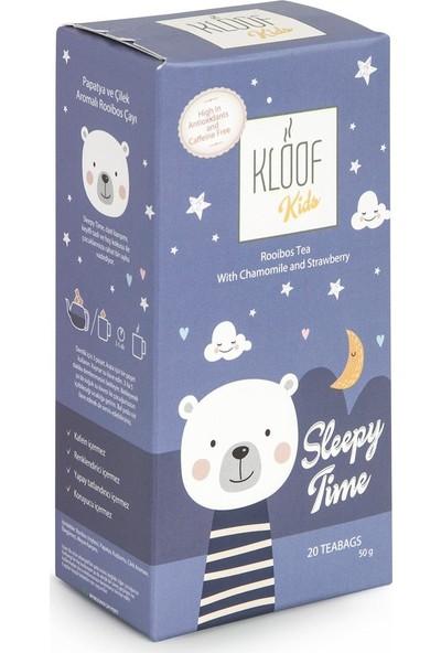 Kloof Rooibos Tea Kloof Kids Sleepy Time Rooibos Tea - Çilekli ve Papatyalı Roybos Çayı 50 gr 20'li Demlik Poşeti