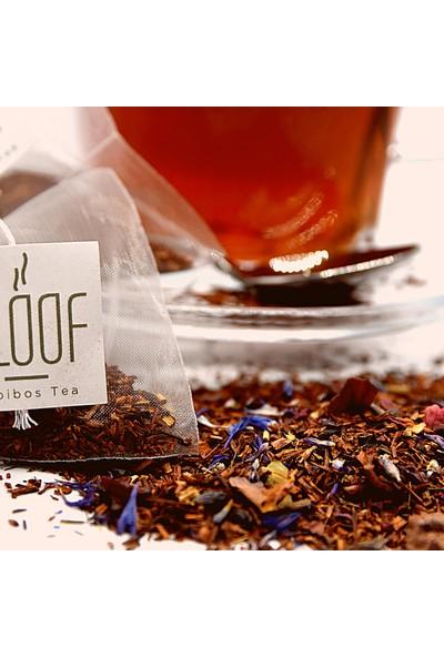 Kloof Rooibos Tea Vanilla Rooibos Tea - Vanilya Aromalı Roybos Çayı 20'li Biodegradable Piramit Poşet 60 gr