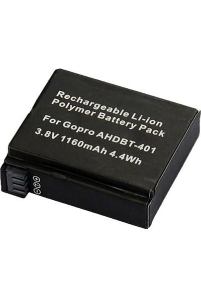 Kingma Gopro Hero 4 Uyumlu Batarya Pil AHDBT-401
