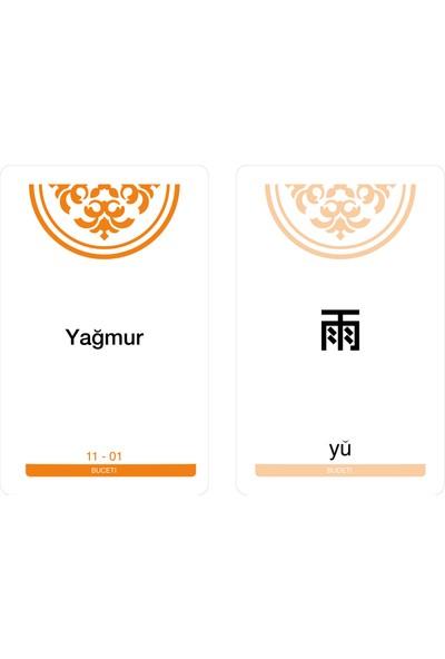 Buceti Çince Dil - Kelime Kartı Hsk 1
