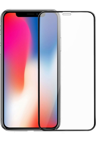Minesk Apple iPhone X/XS Tam Kaplayan Cam Ekran Koruyucu