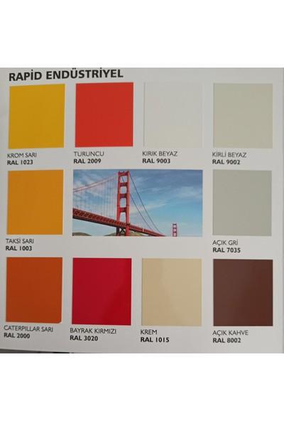 Pamukkale Endüstriyel Boya 2,7 kg Canlı Renkler Bayrak Kırmızı