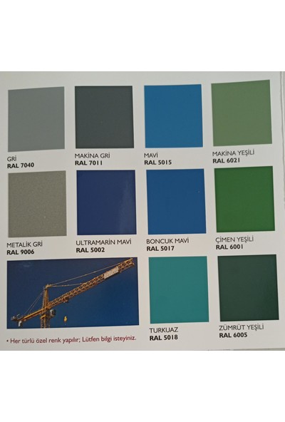 Pamukkale Endüstriyel Boya 870 gr Canlı Renkler Ultramarin Mavi