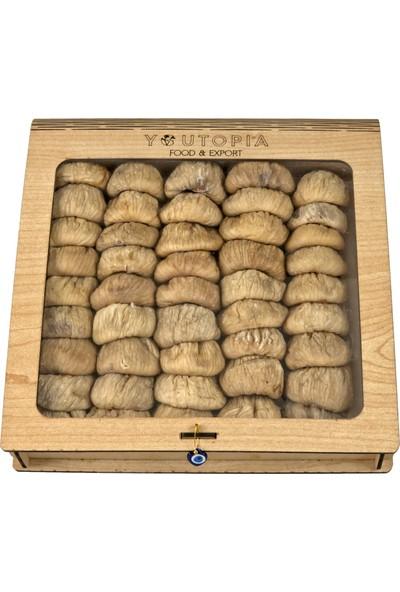 Youtopia Kuru İncir Kitap Kutu Kutu 1 kg