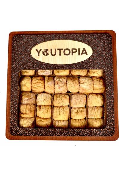 Youtopia Kuru İncir Pencereli Deri Kutu 600 gr