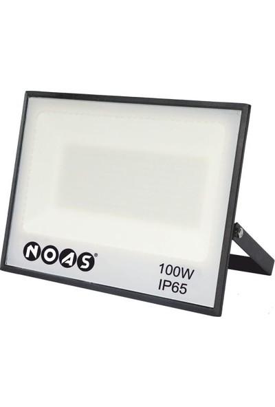 Noas LED Projektör 100W 6500K Beyaz Işık Smd - 9000 Lümen