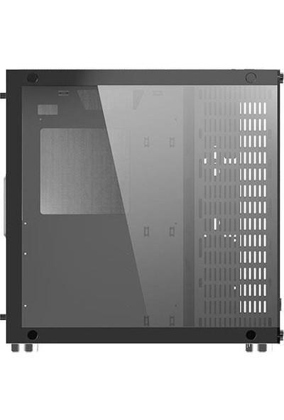 Xigmatek EN43354 Aquarius Plus 7 x 120 cm Fanlı Tempered Camlı 1 x USB 3.0 2 x USB 2.0 Bilgisayar Kasa