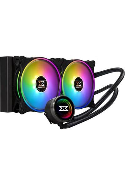 Xigmatek Aurora 240 EN42807 Intel/AMD 2 x 120 mm At 120 Rainbow İşlemci Soğutucu