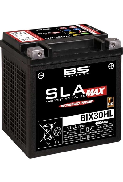 Bs Battery BIX30HL Sla Max