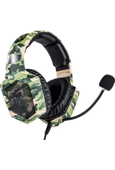 Ouni Kulaklık Rgb Kablolu Stereo Kulaklık (Yurt Dışından)