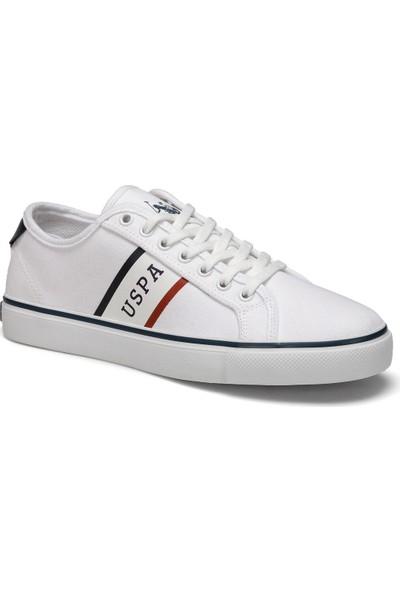 U.S. Polo Assn. Trona Beyaz Erkek Sneaker