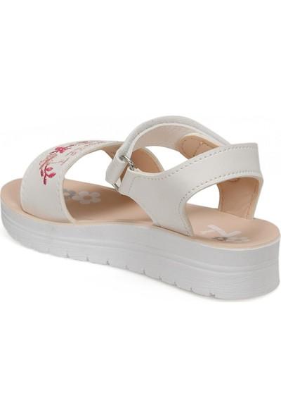 Seventeen Shelly.p Beyaz Kız Çocuk Sandalet
