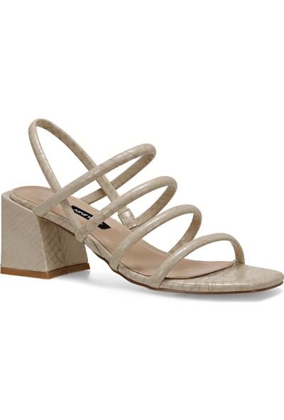 Nine West Lamar Bej Kadın Sandalet