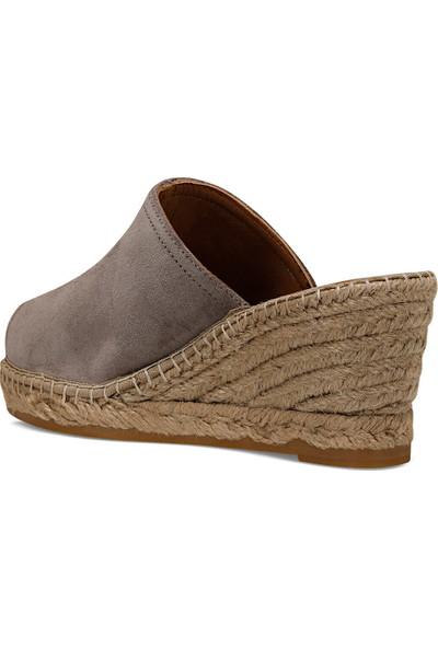 Nine West Kauffman2 Vizon Kadın Dolgu Topuk Sandalet