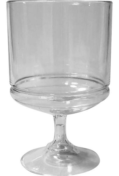 Dereli Mika Ayaklı Magnolia Cup 6'lı Tatlı Bardağı