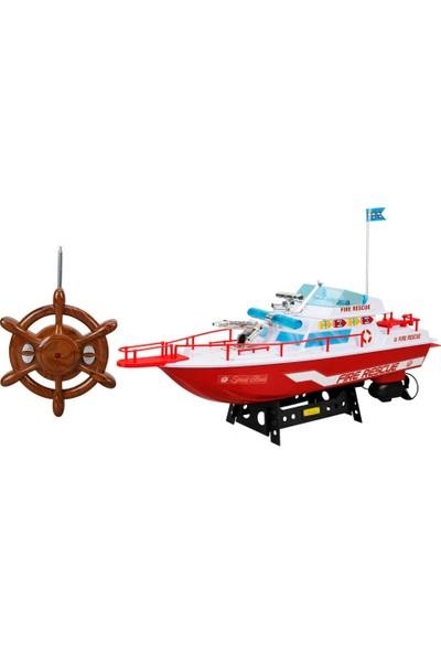 Suncon Uzaktan Kumandalı İtfaiye Tekne 45 cm