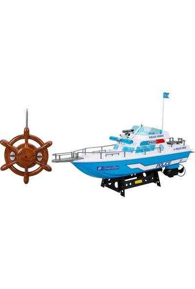 Suncon Uzaktan Kumandalı Sahil Güvenlik Polis Tekne 45 cm