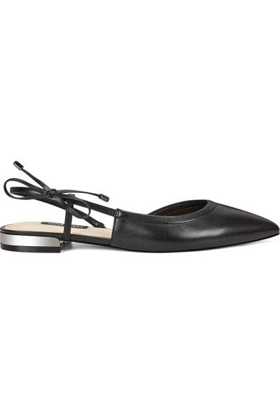 Nine West Rosa Siyah Kadın Sandalet