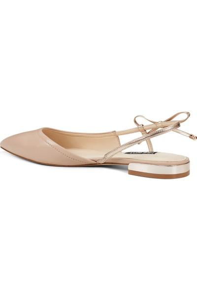 Nine West Rosa Naturel Kadın Sandalet