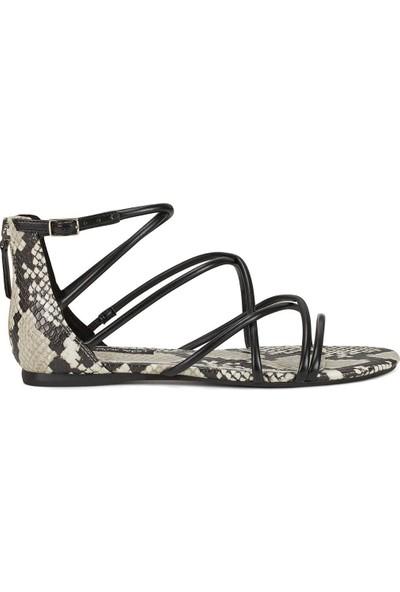 Nine West Whısper3 Siyah Kadın Sandalet