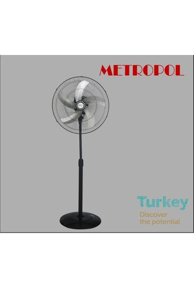 """Metropol Mp-455-My 20"""" Ayaklı Vantilatör"""