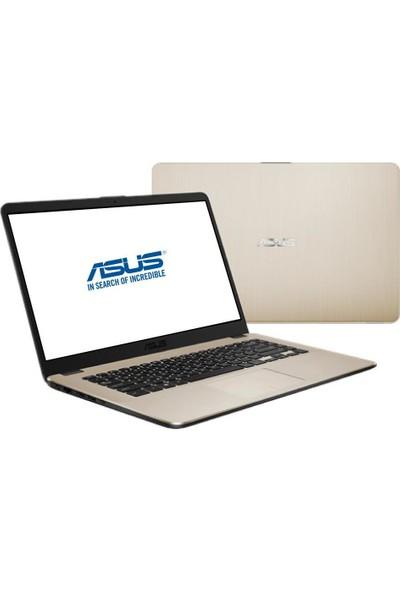 """Asus ViviBook AMD Ryzen 7 2700U 16GB 256GB SSD Freedos 15.6"""" FHD Taşınabilir Bilgisayar X505ZA-BQ887A7"""