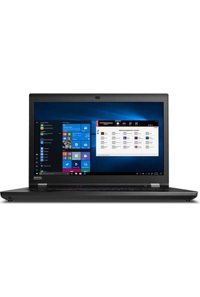 """Lenovo MWS P73 Intel Core i7 9750H 32GB 1TB + 1TB SSD Quadro T2000 Windows 10 Pro 17.3"""" FHD Taşınabilir Bilgisayar 20QR003MTX04"""