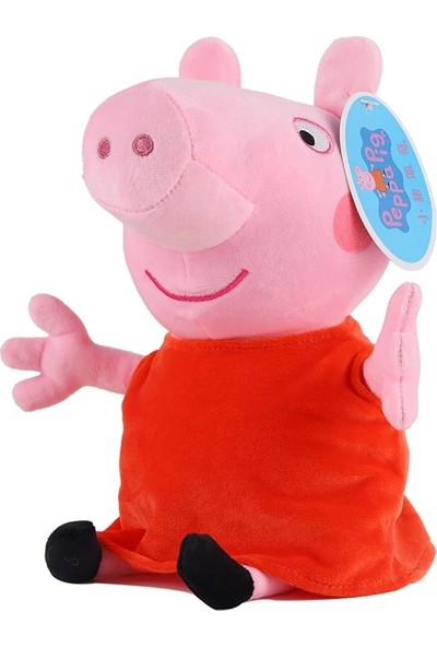 Peppa Pig Figür Peluş Figür Oyuncak 19 cm