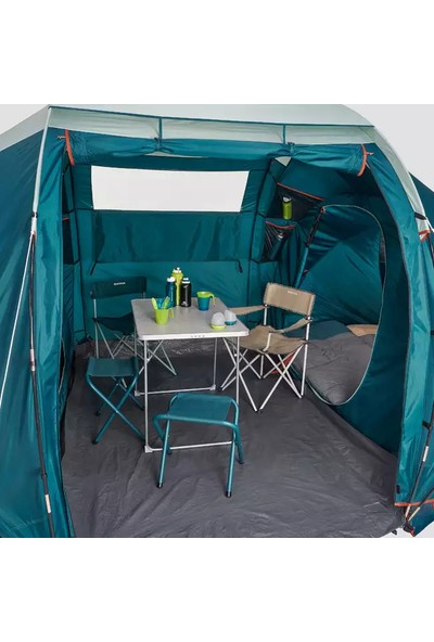 Quechua Arpenaz Aile Kamp Çadırı Quechua 4 Kişilik Çadır 2 Odalı