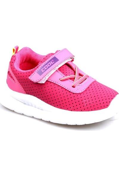 Cool 20-S20 Fuşya Kız Çocuk Fileli Günlük Spor Ayakkabı