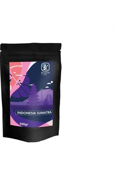 Bongardi Coffee Endonezya Sumatra Yöresel Filtre Kahve 200 gr Öğütülmüş